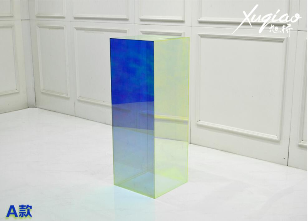 Clothing store display rack creative flow stage women's clothing props acrylic exhibition stand model stand window