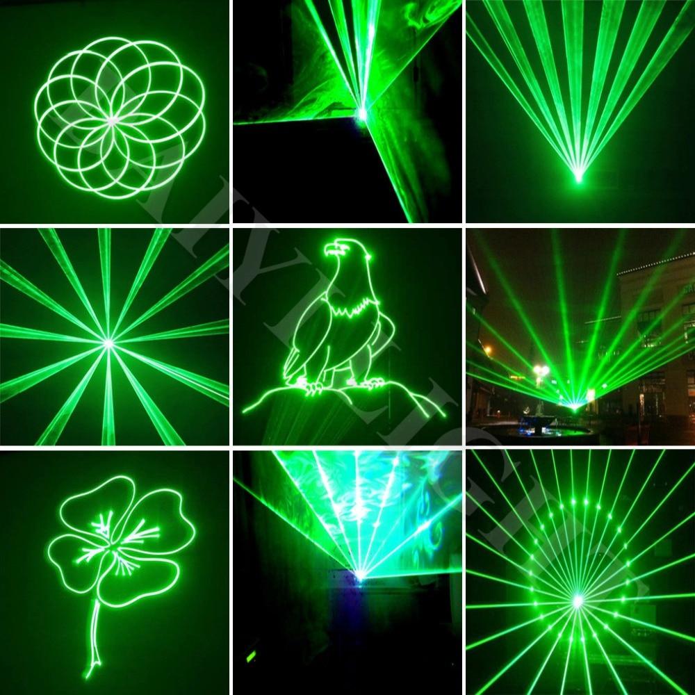 Free Shipping ILDA+SD Card Christmas decoration single green color stage Laser disco Light machine light laser