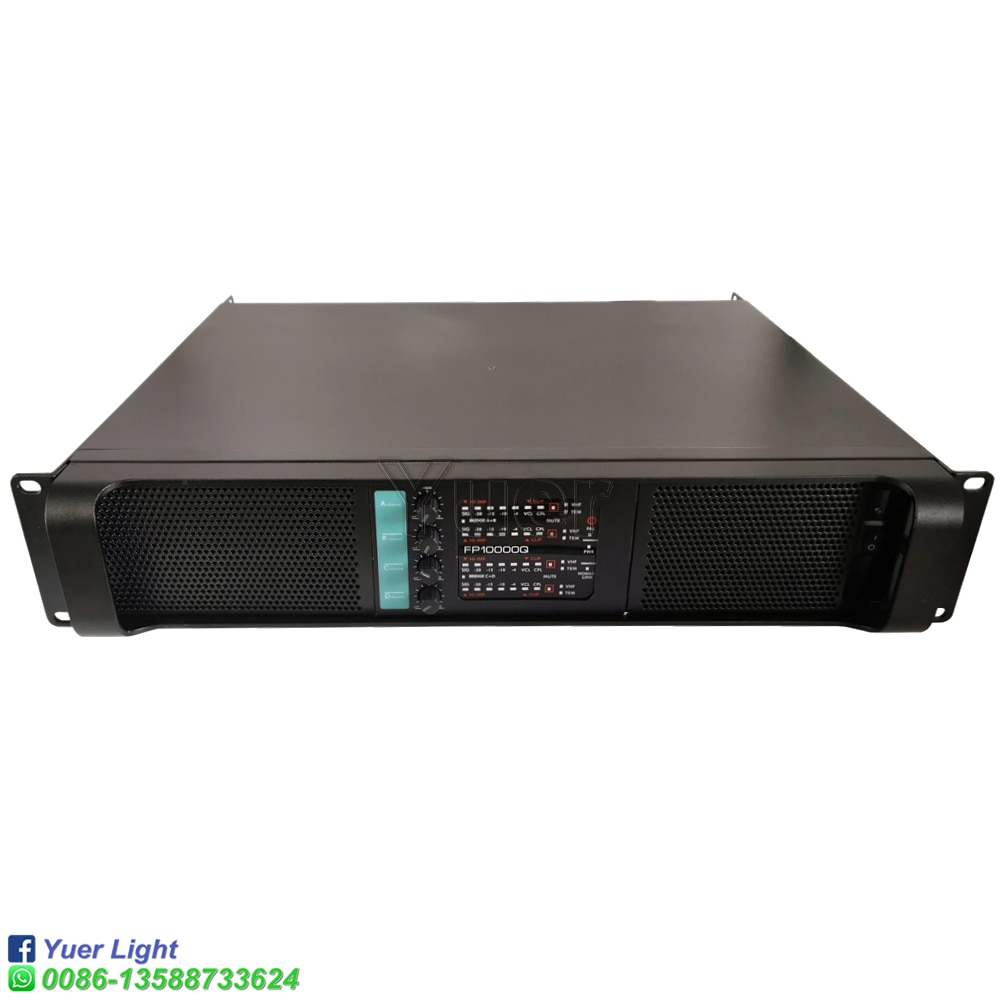 200-240V 4 Channel 4x2200 Watts Class FP 10000q Line Array Sound System Audio Professional Disco Dj Power Amplifier FP10000Q