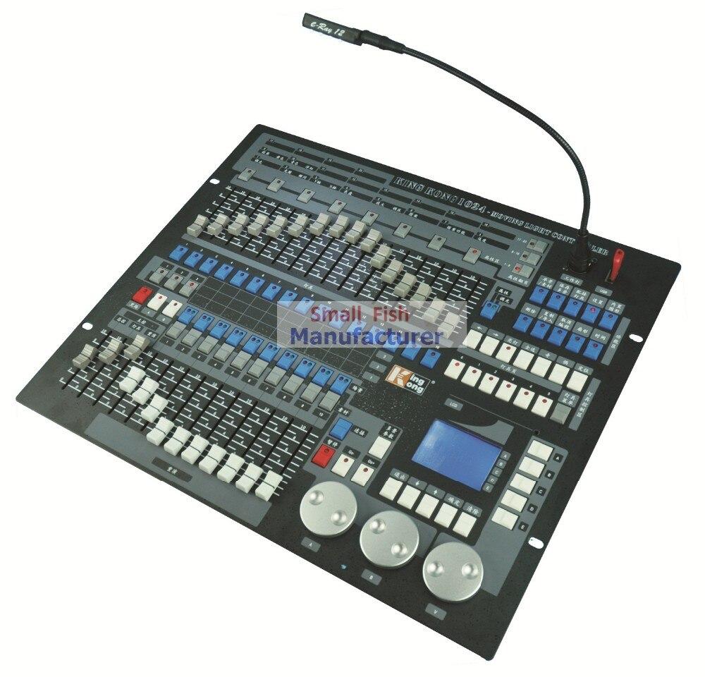 Original Kingkong Brand Professional DMX Console Stage Light Equipment Kingkong 1024 Console DMX512 Computer Lighting Controller
