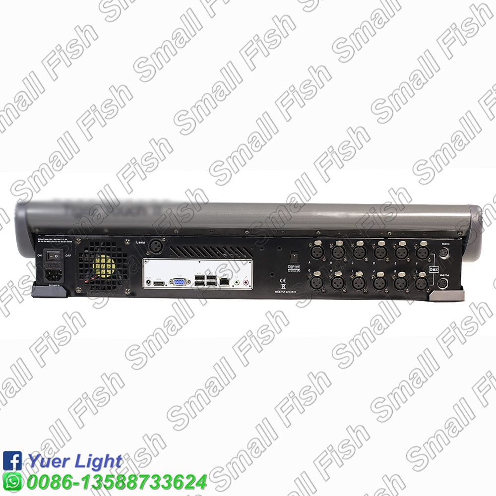 2021 Tiger touch II Console Professional Stage Moving Head Light Par Light Equipment Controller For Party Wedding Disco DJ Bar