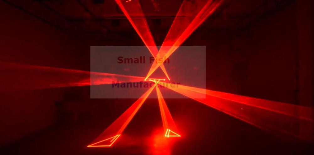 6 Lens Animation 12W RGB Laser Projector Professional Stage Lighting Effect DMX 512 Laser Scanner DJ Disco Party showlight Laser