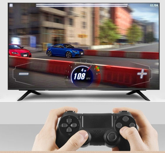 50 inch monitor 1080p screen Display + Android OS 7.1.1 smart wifi grobal version led television TV