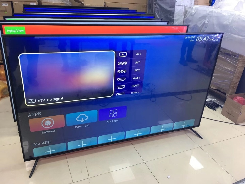 40 45 50 55 60'' inch curved lcd monitor and android smart TV Dolby DVB-T2 S2 wifi bluetooth TV led television tv