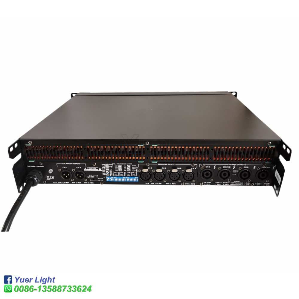 High quality Line Array Sound System Audio FP 10000Q 4 Channel Professional DJ Power Audio Amplifier Switching Power Amplifie