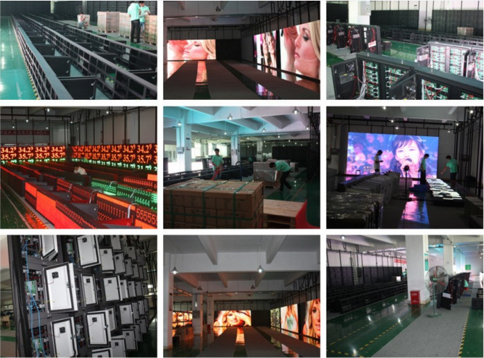 Outdoor HD P4.81 500*1000mm rental led display Monitoring LED Screen ASLLED P4.81 Special stage LED screen