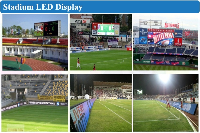 3pcs 500x1000mm Outdoor P3.91mm Die Casting Aluminum Cabinet Led Display Screen Panel, Controller And All Part LED Screen