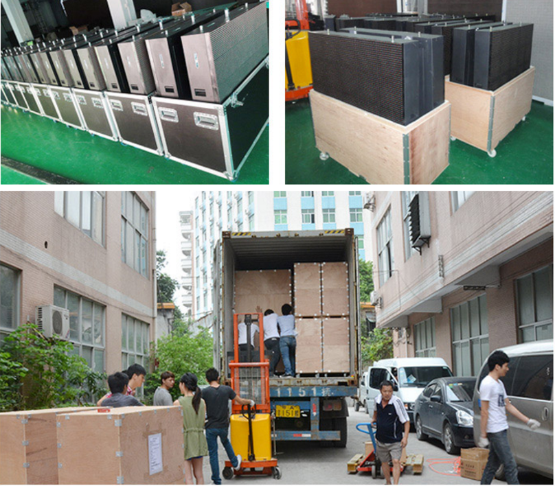 P6.67 outdoor led screen panel  Outdoor high brightness curtain wall P6.67 960*960mm LED display led  video wall panel