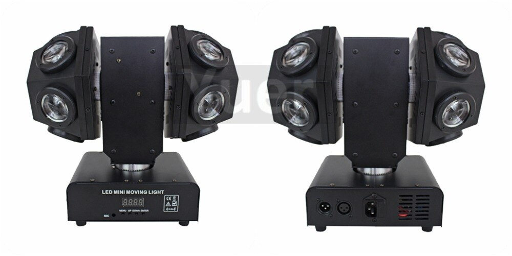LED 12X10W  Moving Head Lights Laser projector Pocket Beam Twins  Stage Lighting Effect Disco Lights Dj Party Stage Lights