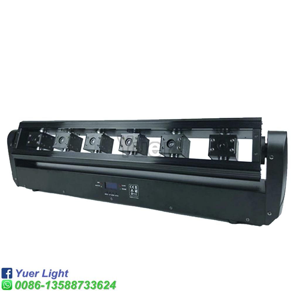 4Pcs/Lot  6 Eyes Moving Head Laser Light Laser power 3000mW  dj effect projector scanner laser stage lighting Disco Dj Equipment