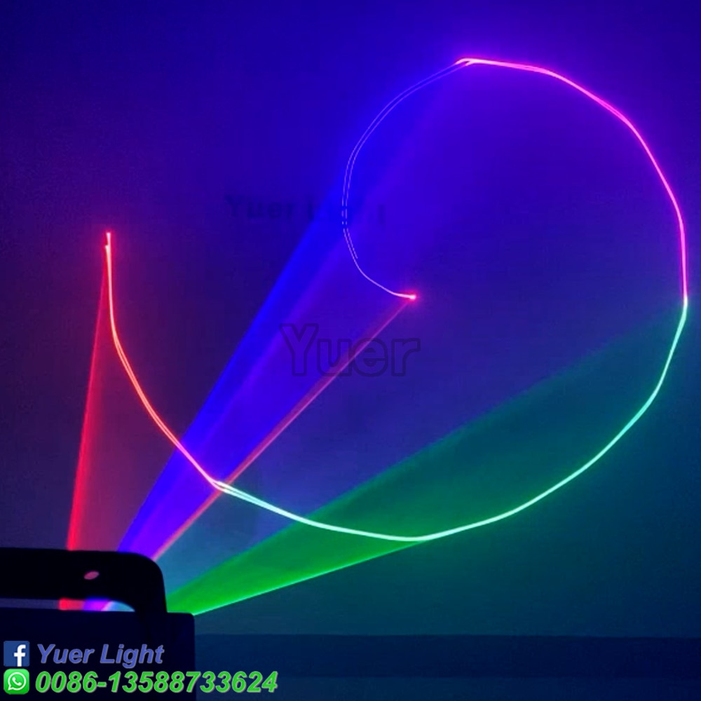 4Pcs/Lot Hot Sale 6W RGB LED Color Animation Stage Light Laser Projector Light Christmas DJ Disco Event Party night light