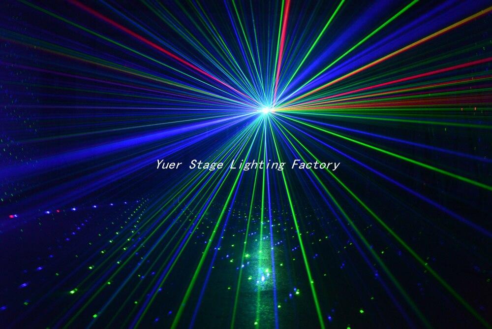 2Pcs/Lot Beam laser light rgb color Six Eye Beam Laser for Club DJ Disco Laser Light Projector DMX512 Scan laser light light box