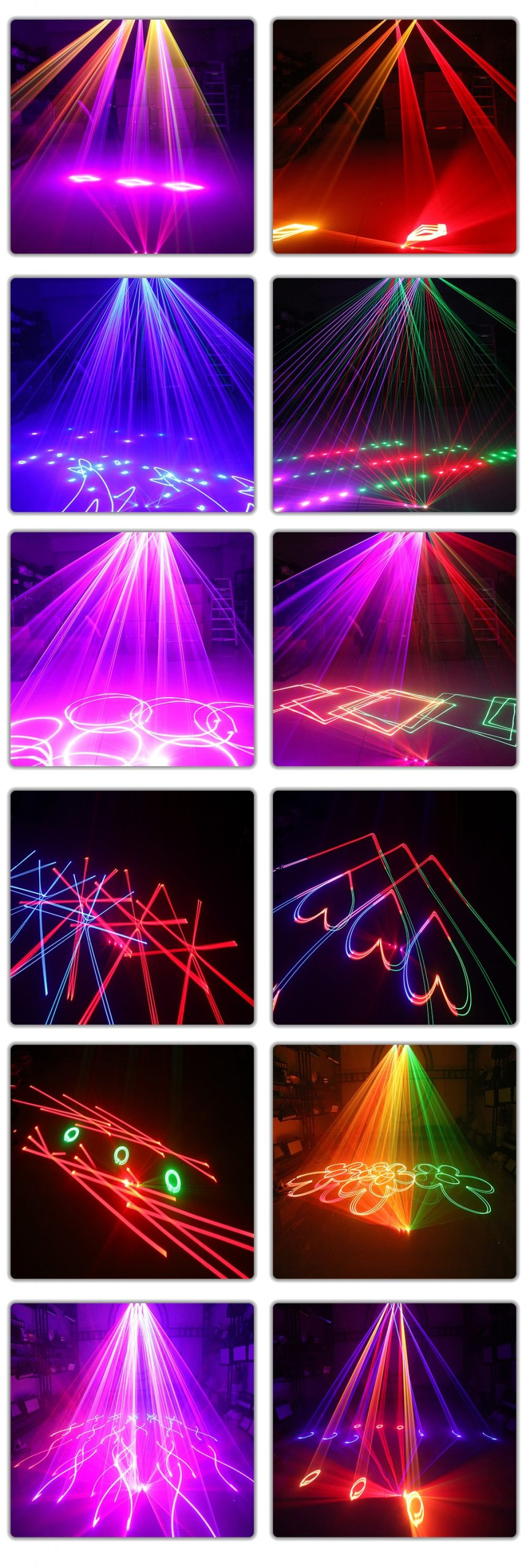 2021 RGB 3IN1 Animation Laser Light 256 Patterns And 11 laser Effect Stage Projector DMX512 For DJ Disco Dance Floor Party Bar