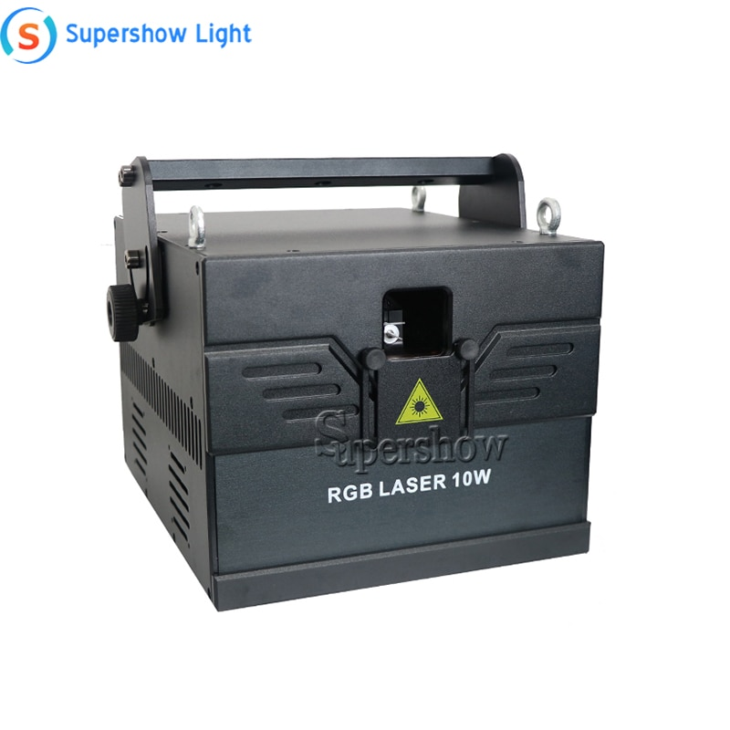 RGB Disco Dance Laser Projector with Scanner Protection System DJ Party Stage Lights