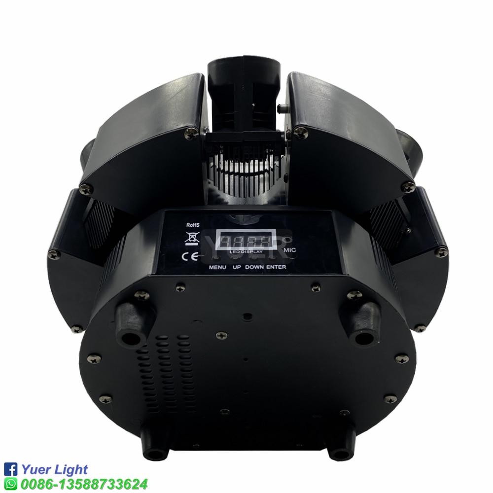 2021 New Smart 6 Heads Moving Head Beam Laser Light RGB Floral Color Laser Light Projector Unlimited Rotating Disco Laser Light