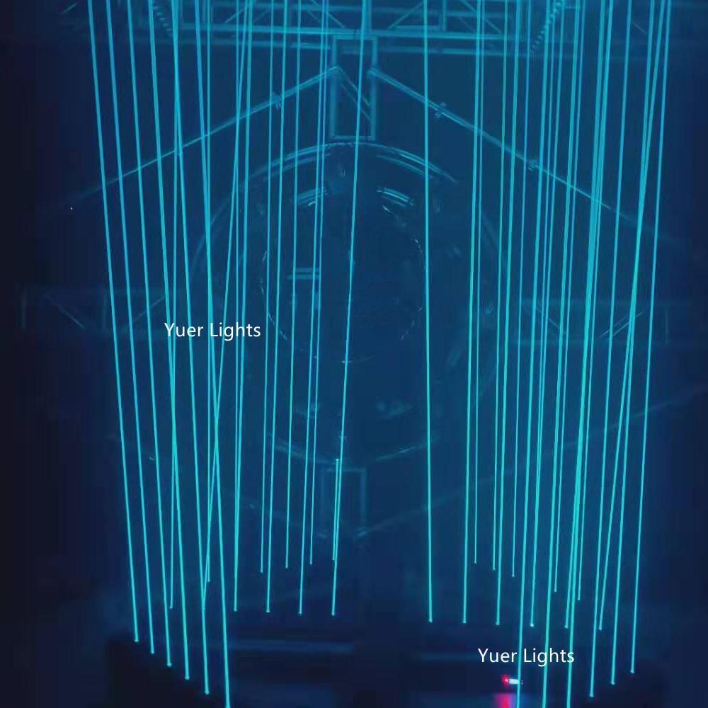 6 Lens RGB 3000mw DMX512 Laser Line Scanner Stage Lighting Effect Laser Projector Disco Lights Dj Dance Bar LED DMX Laser Show