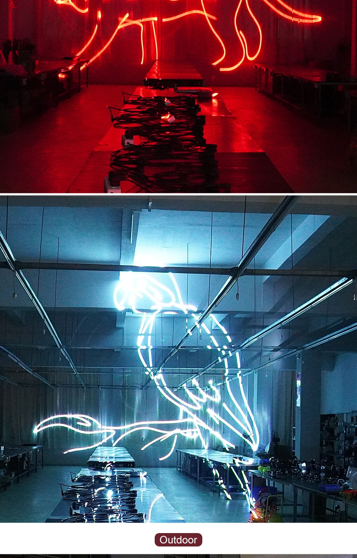 RGB Animation Laser Light RGB Laser Light  Stage Light Laser Projector DJ Disco Beam Laser Dj Laser for Party Show Christmas