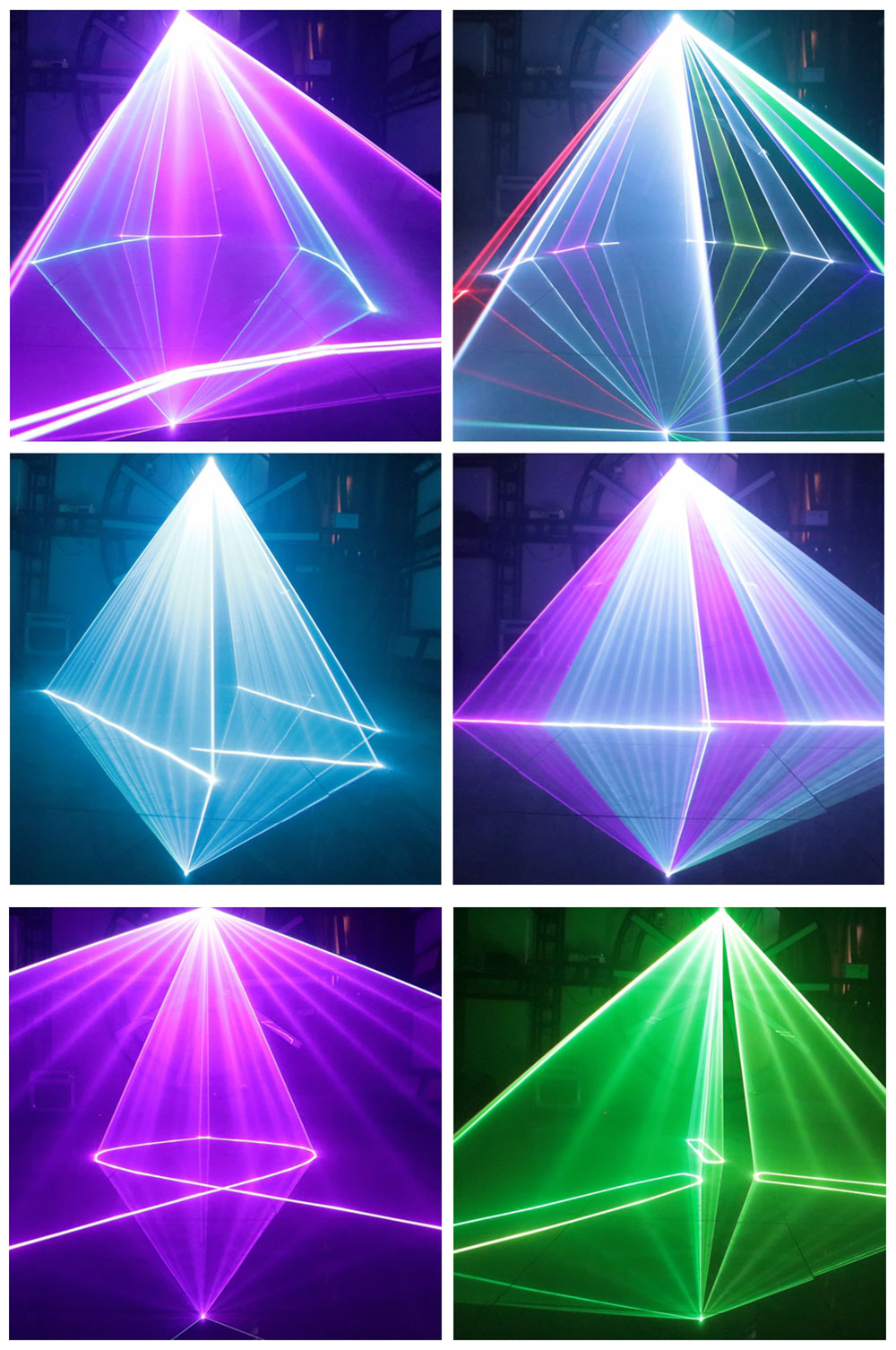3W DJ Disco Stage Effect Light RGB 3IN1 Laser Projector Light Beam Spot 2IN1 Laser Scans DMX512 Music Control Bar Party Show