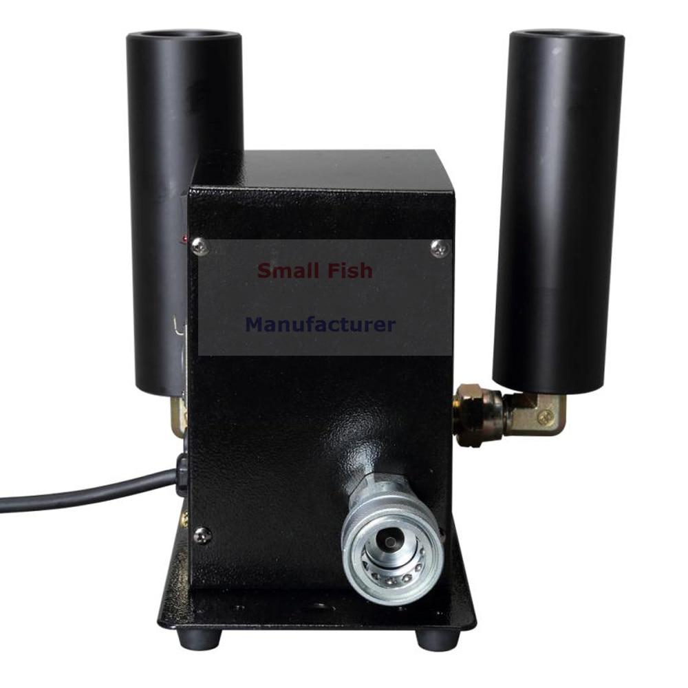 Stage Light Dj Equipments 250W Double Pipe Co2 Jet Machine DMX 512 Control CO2 Column Jet Machine For Laser Projector Disco Dj