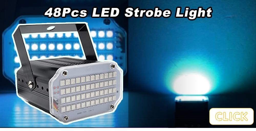 8 Eyes Full Color RGB Laser Bar Light DMX512 Stage Strobe Effect Projector DJ Disco Party Dance Floor Bar Club Music Restaurant