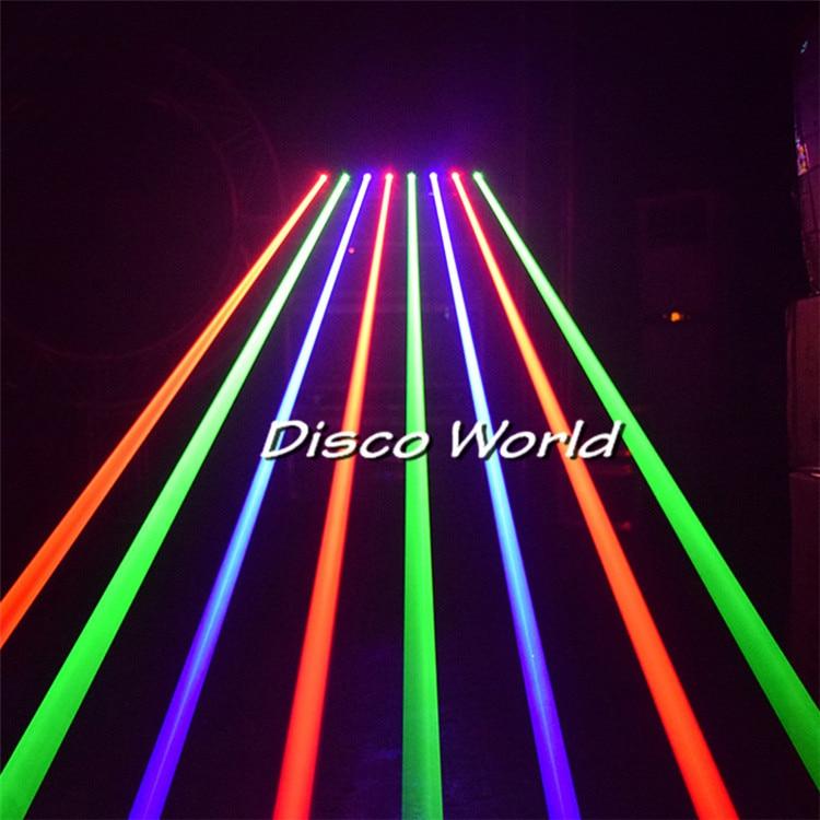 Professional DJ lights laser projector 8 eyes RGB moving head laser light DMX line laser effects stage lighting for Disco party