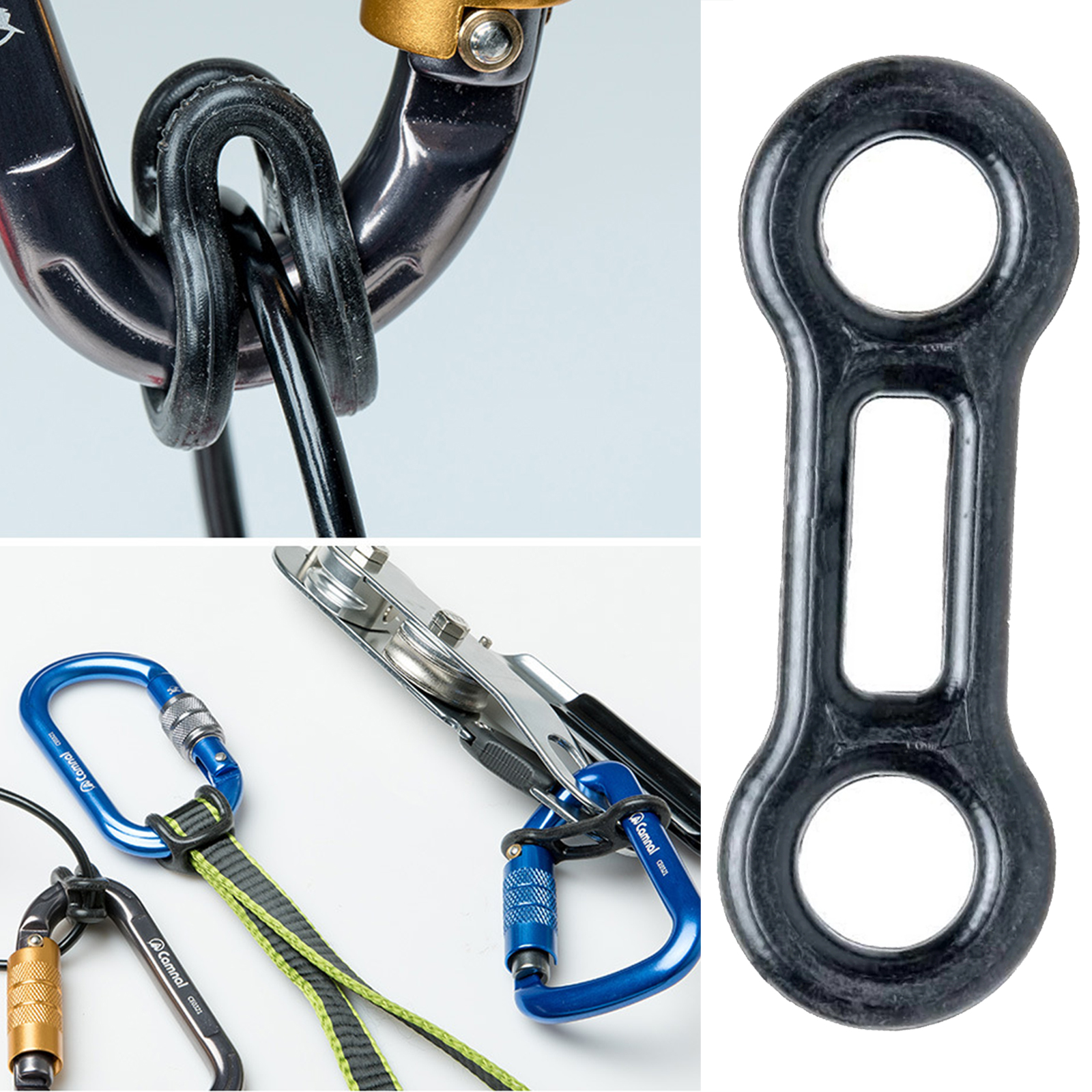 Carabiner Rope Locking Tool Rigging Fixed Climbing Safety Device Climbing Accessories For Man Women