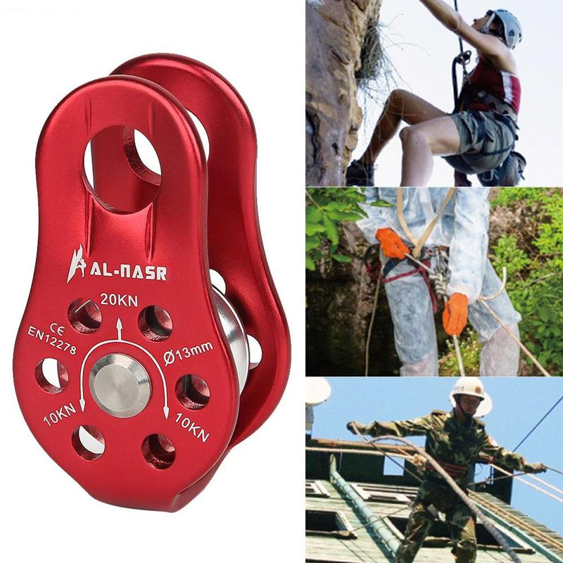 Mountaineering Rigging Equipment Pulley Climbing Rock Altitude Climbing High Pulley Rescue Pulley Mountaineering Cave N4E7