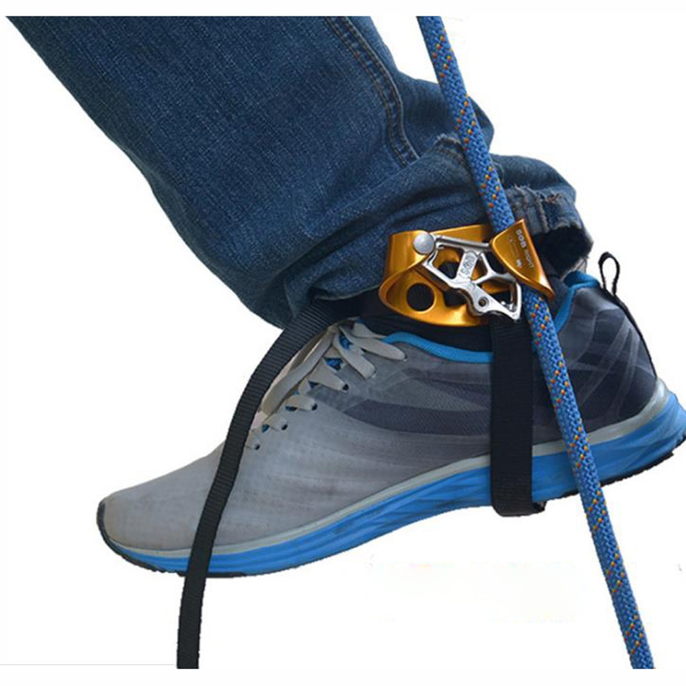 Adults Left Right Foot Ascender Tree Rigging Arborist Caving Safety Equipment Anti-dropping Protector Climbing Accessory