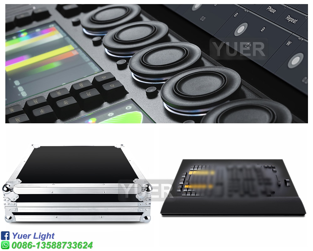 Profession M a Stage Effect Light Controller Fader And Command Wing Console With Flight Case For Party Disco KTV DJ Equipment