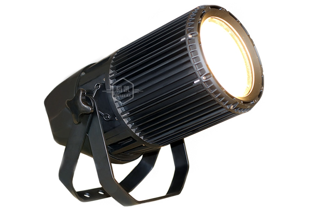 IMRELAX Outdoor ZOOM 260W COB LED Wash Par Light High CRI White and Warm White DMX Audience Spot Event Stage Light