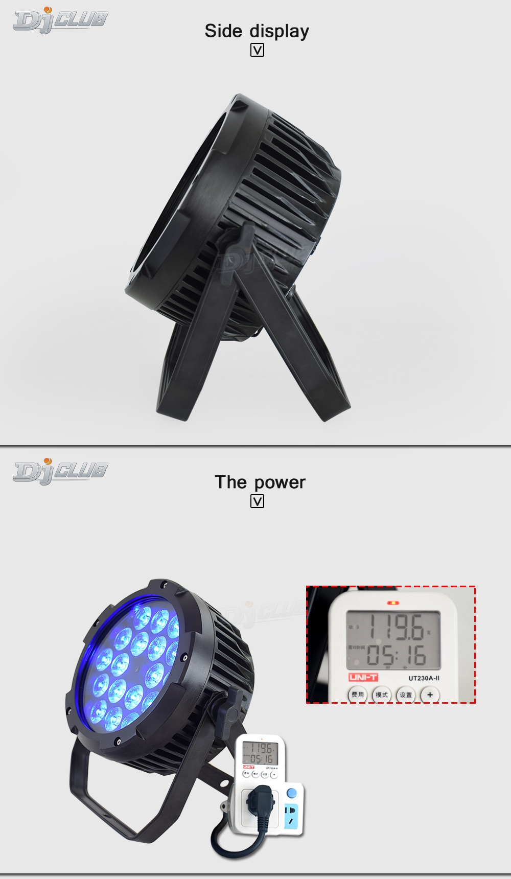 LED Par Can Uplighting Waterpoor Outdoor Buliding Falt Par 18X18 Watt RGBWA UA Colors Lyre Wash 6In1 For Dmx Stage Lighting