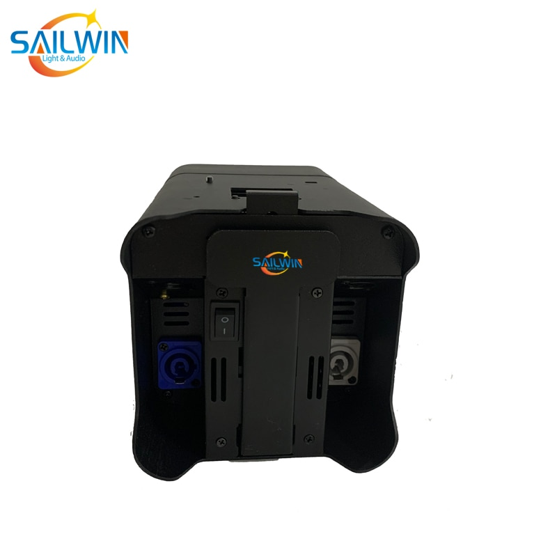 Sailwin 4x18W 6in1 RGBAW +UV Infrared Battery-Powered Wireless WIFI LED UPLIGHT Stage Lights Disco LED Par Light With PowerCOn