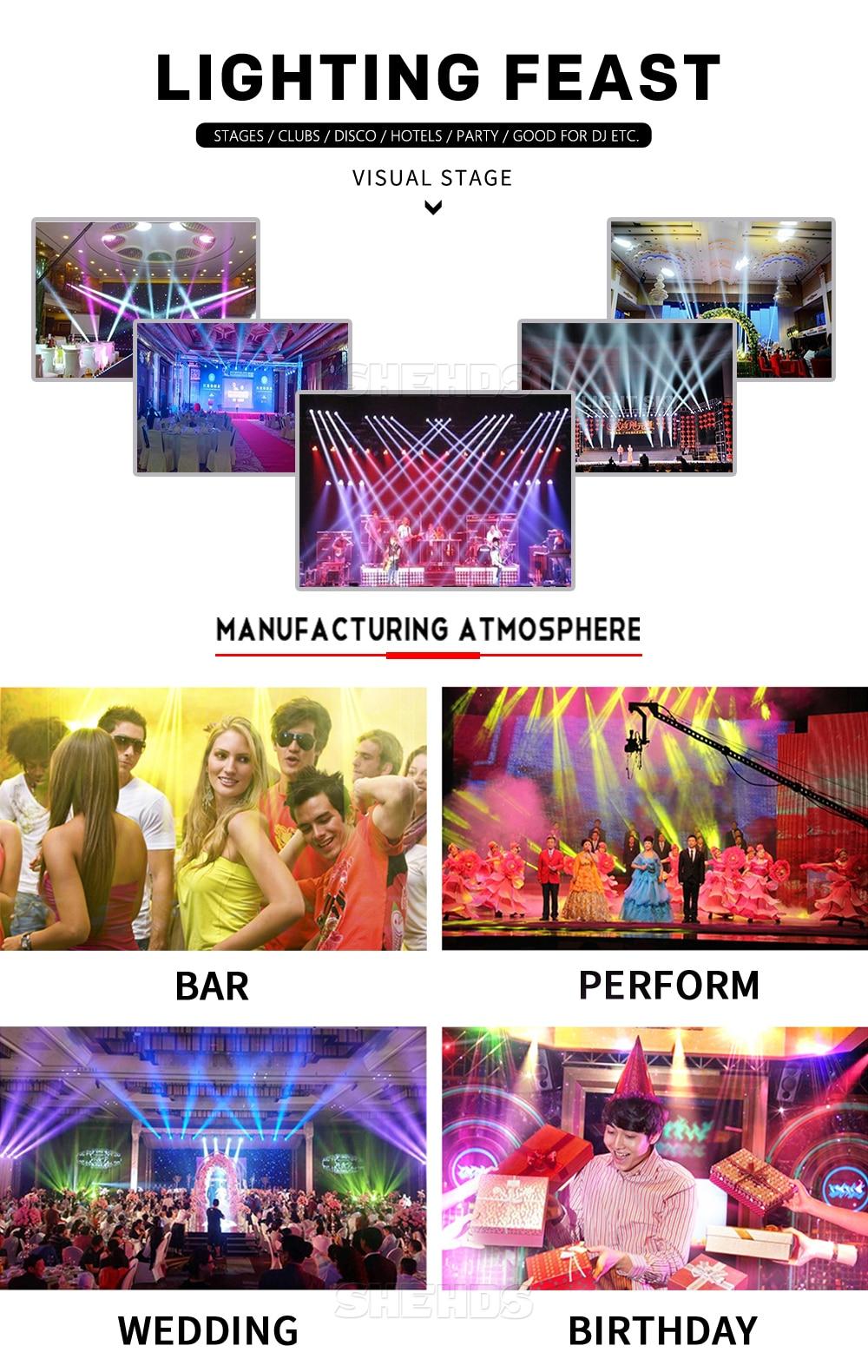 8pcs Hot Sell and Hight Quality Flat LED Par 7X12w/7X18W RGBW Stage Wash Light DMX Controller DJ Equipment Disco Night Club Show