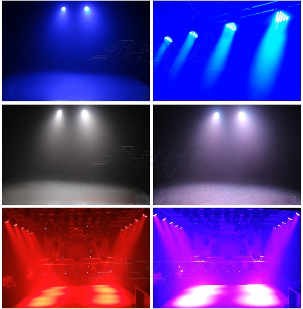 54x4W RGBW 4in1 LED Par Light DMX Wash Stage Effect Spotlight For DJ Disco Music Show Party Club Dance Floor ASGD