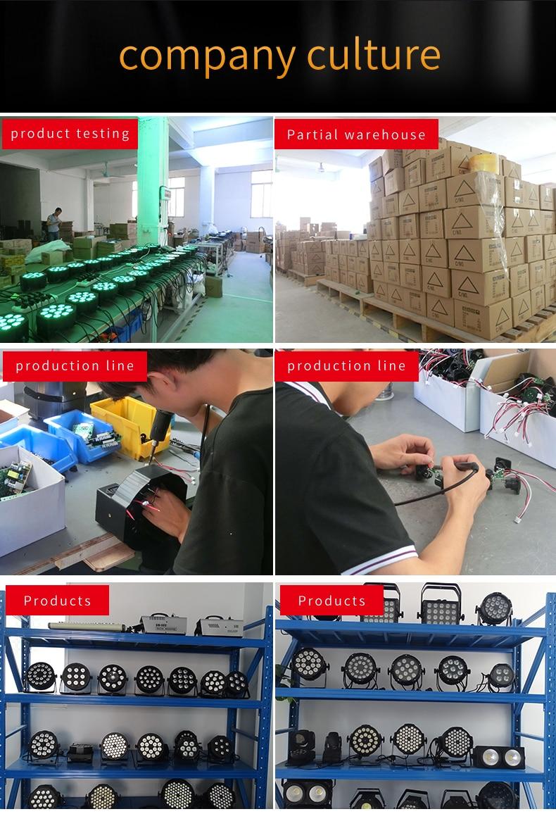 4pcs/lots18x12W RGBW 4 in 1 LED Par Light 18 * 12w DMX512 Disco Light Professional Stage DJ Wedding Stage Staining Light