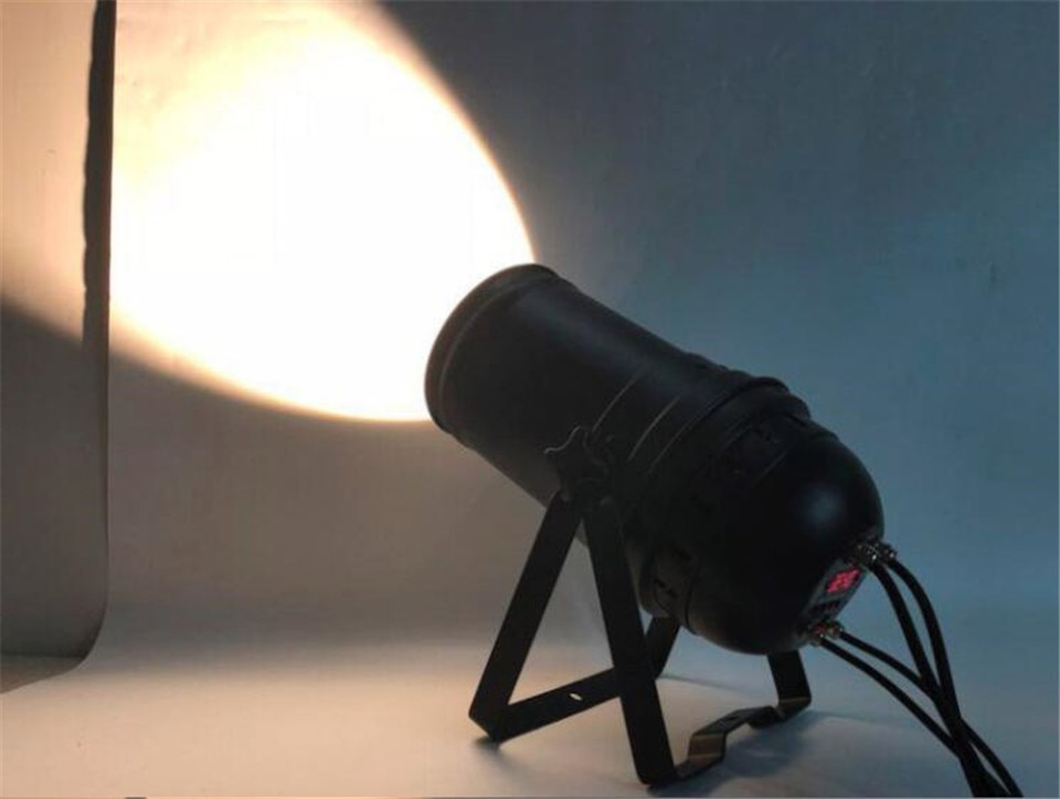 300W LED COB LED Par Light Zoom 5-50 degree disco Light Warm White 3200k dj beam wash dmx Stage lighting