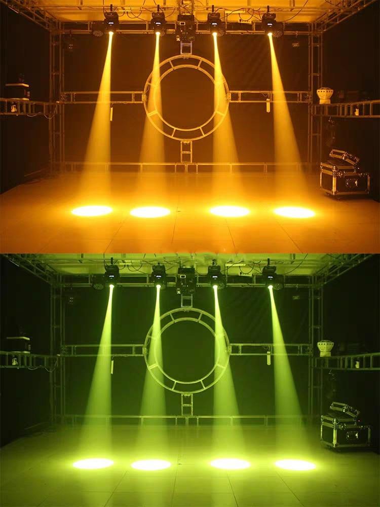Mini Spot 60W Led Moving Head Light With Gobos Dmx512 Dmx 9/11 Channels Professional Led Stage Light(2Pcs/Lot)