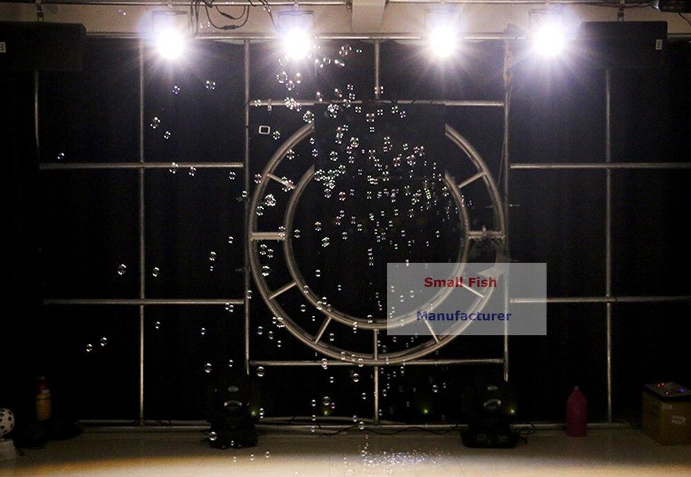 60W 0.6L Mini Bubble Machine Professional DJ Bar Party Shows Machines High Output Automatic Stage Bubbles Maker For Christmas Dj
