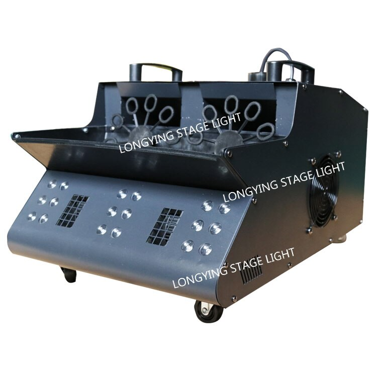 Stage Equipment DMX512 LED 2000W Smoke Bubble Machine For Party Show