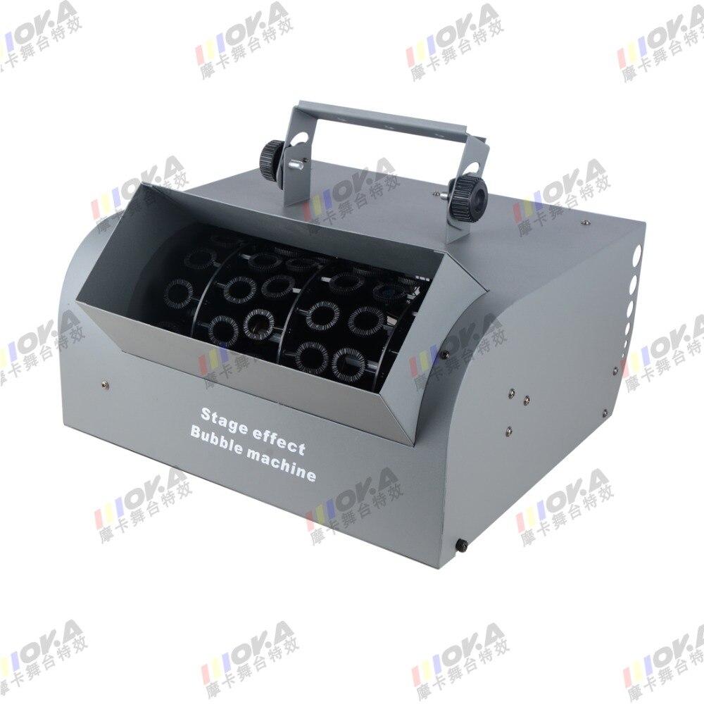 4PCS/lot 150W dmx bubble machine remote control Wedding Double Blower Fans Bubbles machine Stage Effect Roller Machine