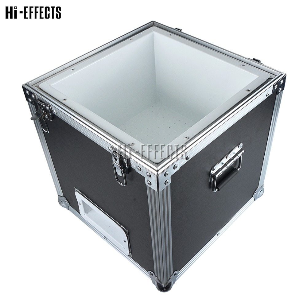 Stage Cloud Maker Colorful Foam Bubble Machine Flowing Fly Up Flight case Packing Helium Foam machine for Wedding Party Show