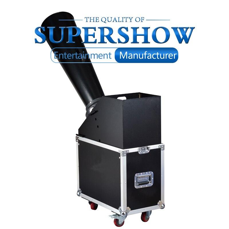 1pcs Big Show Party Wedding Rainbow Machine CO2 Confetti Machine hand control blaster jet Stage Effects