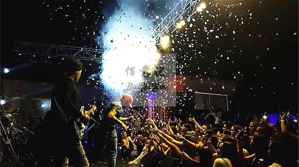 Big Co2 Confetti Color Paper Jet Machine Power Control Confetti Shooter Launcher Machine Confetti Cannon for Wedding Stage Show