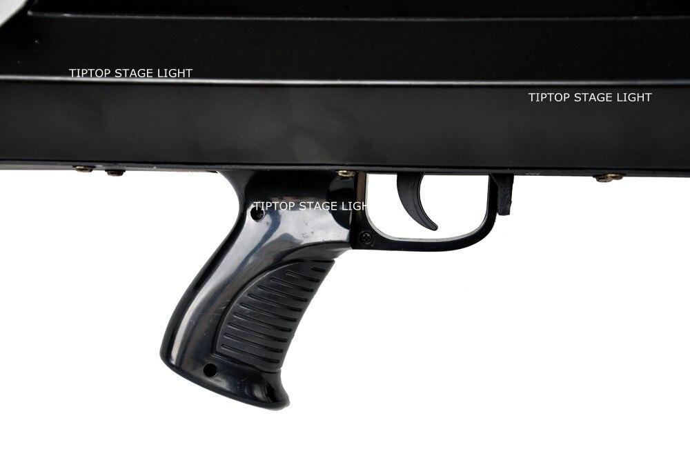 3 Heads Confetti Gun / FX Confetti Gun For Celebrations,Weddings,Openings Professional DJ Confetti Gun Stage Effect Machine