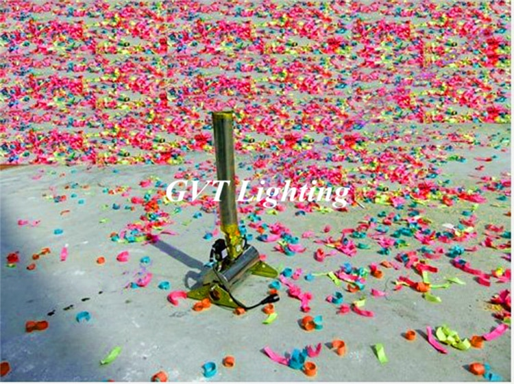 6pcs/lot Remote Control Confetti Cannon Machine Shot Paper Confetti equipment For dj Wedding Party Event Effect Show