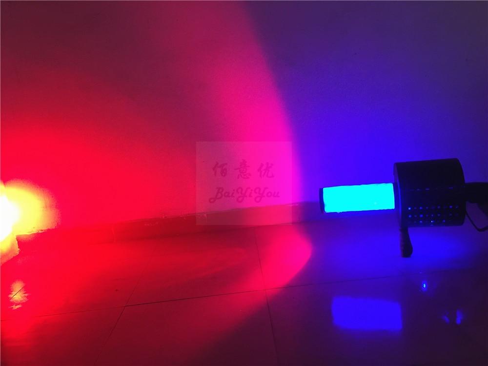 New Powerful LED Co2 Confetti DJ Gun Colorful Manual Control LED Co2 Cryo Jet Confetti Cannon Machine For Disco Party Wedding