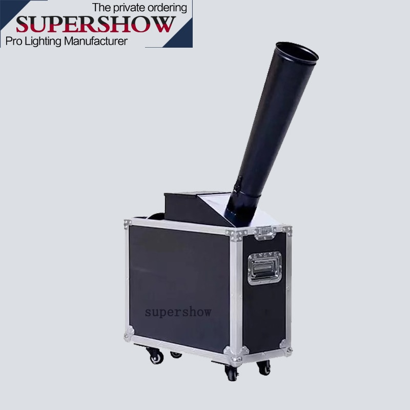 Stage effect Rainbow Machine hand control launcher blower Mini co2 confetti machine cannon jet paper wedding machine