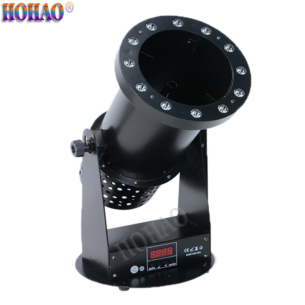 Hot Professional 1200W LED 12*3W RGB 3IN1 Confetti Paper Machine Dj Equipment  Stage Wedding Show Lighting 2Year Free Warranty