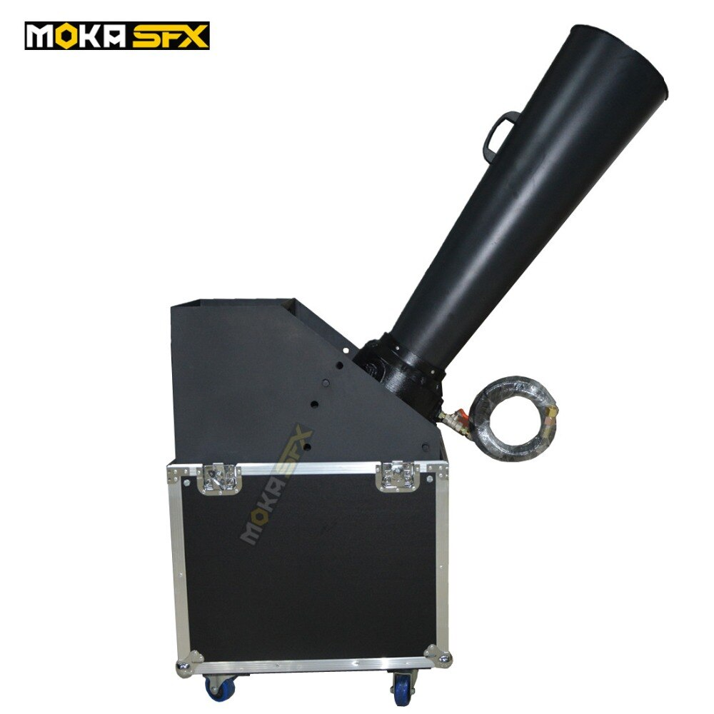 Cast aluminum CO2 gas Confetti Cannon Machine Confetti Blaster Hand Control For large Party