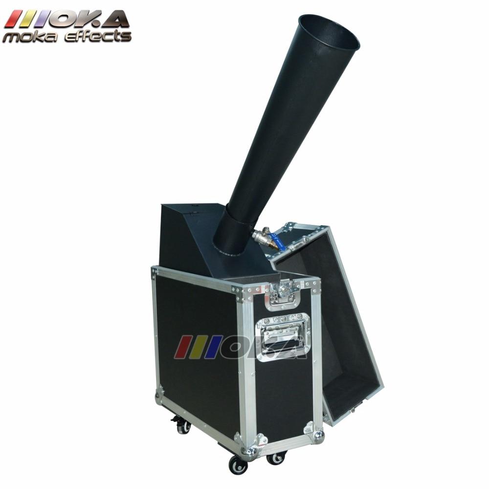 CO2 Confetti Blaster with 5kg confetti paper Confetti Launcher Mini Co2 Confetti Machine co2 jet machine For Party Celebration